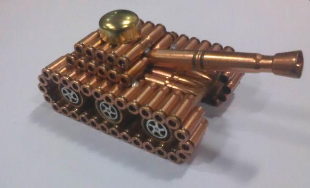 步枪弹壳工艺品图片_95子弹壳工艺品图片