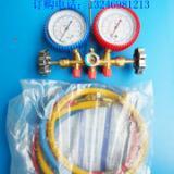 供应R22双头空调压力表,双头空调冷媒压力表