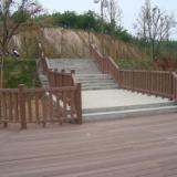 供应青岛胶南木塑护栏装饰材料生产厂家