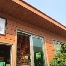 供应青岛木塑房屋景观装饰材料