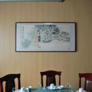 青岛PVC木塑室内吸音板/青岛木塑图片