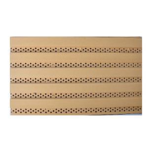 青岛泰旭牌木塑吸音板/泰旭木塑板图片