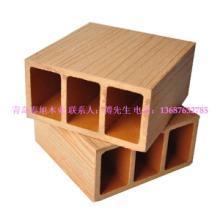 供应青岛户外景观塑木方管