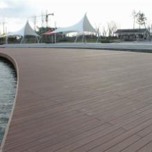 供应山东威海木塑装饰地板生产厂家