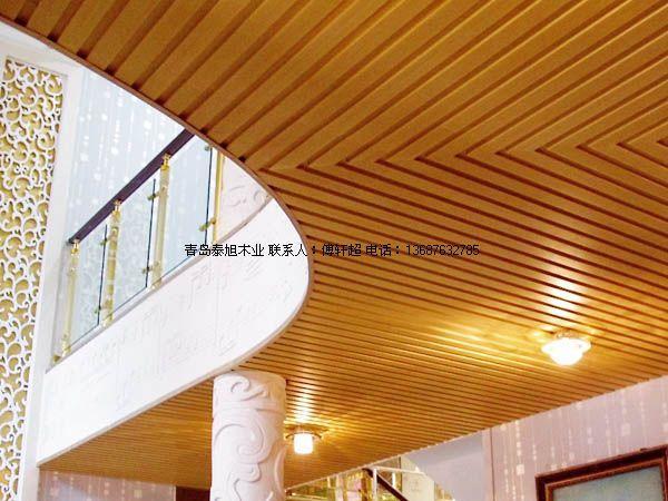 供应青岛胶南生态木长城板