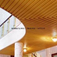 青岛室内长城板生态木图片