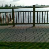 供应青岛崂山木塑护栏工程-木塑护栏工程安装-木塑装饰材料批发