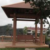 供应青岛木塑凉亭装饰-最优质的木塑凉亭