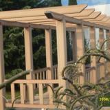 供应山东木塑廊架