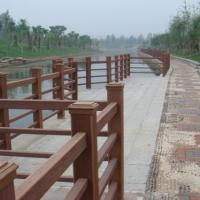 供应木塑产品青岛哪家最好/景观护栏