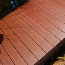 供应山东莱芜木塑装饰地板材料-木塑户外景观地板材料批发