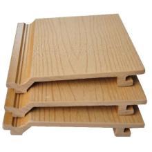 供应山东青岛防火木塑挂板装饰材料批发