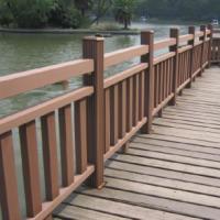 供应山东青岛户外景观木塑护栏