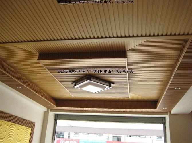 供应青岛室内生态木长城板装饰