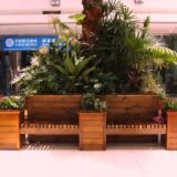 供应青岛城阳木塑花箱产品生产商