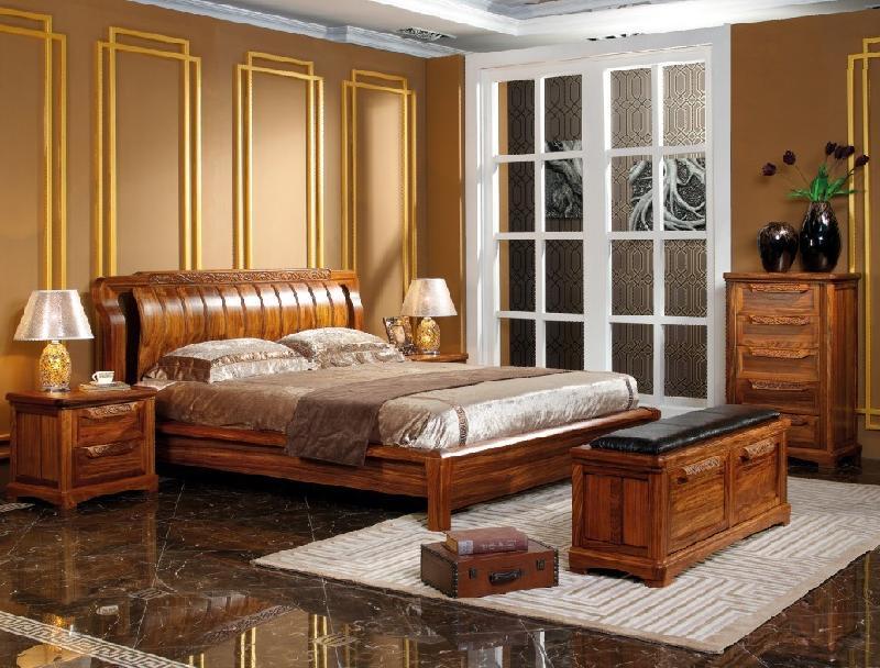 榜样中国时尚中式实木床图片 榜样中国时尚中式实木床样板图 榜样中