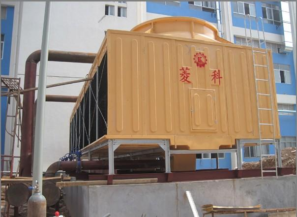 供应350T吨横流式低噪音冷却塔 厂家直供菱科牌RT-350L/DB