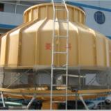 厂家供应400T吨冷却塔 菱科牌逆流式400CMH流量玻璃钢冷却塔