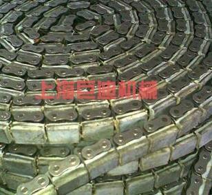 08B双排带橡胶防滑链条图片