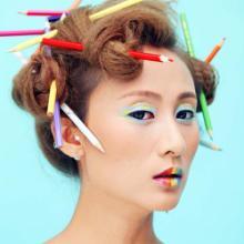青岛写真摄影第一品牌玛雅摄影潮流妆面风批发