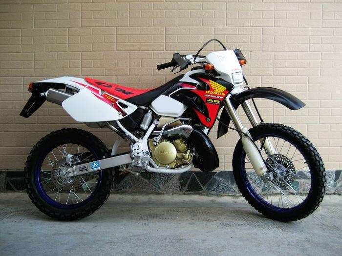 供应二手越野97年本田CRM250AR原版原漆摩托车