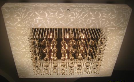 供应欧特朗现代水晶亚克力客厅灯海珠图片