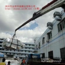 供应深圳福永机器设备搬运吊运移位定位,福永吊机吊车出租赁搬厂批发