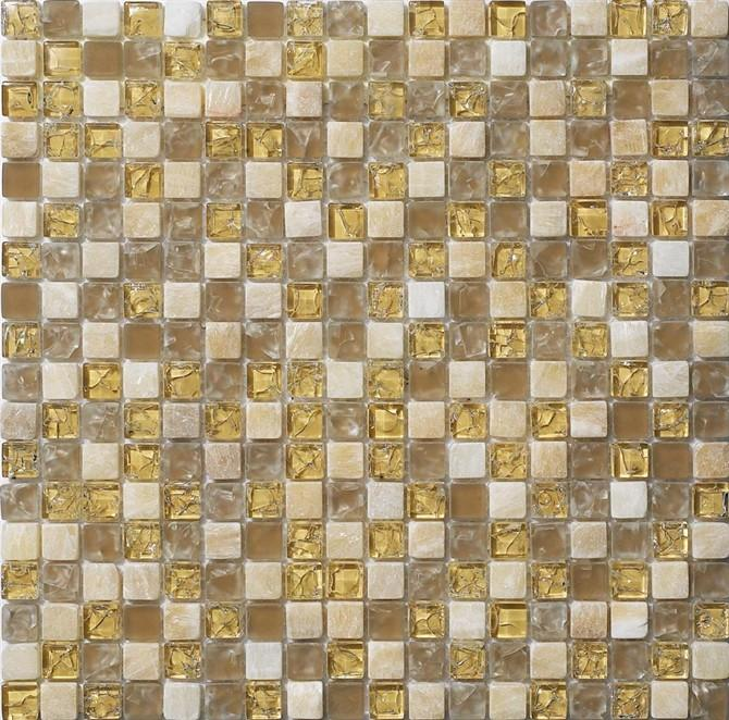 供应湖北咸宁背景水晶玻璃马赛克,床前背景拼图花色图案 一呼百应网