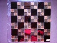 供应浙江丽水钻镜玻璃马赛克,库存,现货批发钻镜镜面玻璃马赛克供应。批发