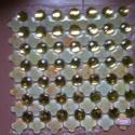 山西大原背景墙拼图水晶玻璃图片