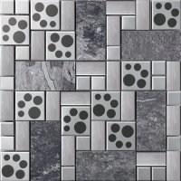 上海银色不锈钢马赛克图片