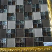 供应武汉水晶玻璃马赛克批发商,墙纸与玻璃结合的材料生产厂家。图片