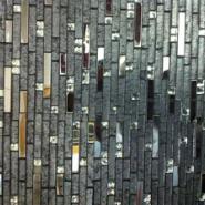 安徽KTV电视背景墙玻璃马赛克图片