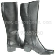 供应真皮女式马靴 仪仗靴阅兵靴
