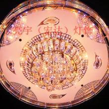 供应高档圆水晶灯客厅灯具图片