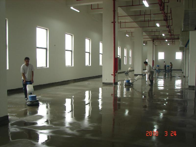 供应水泥地面固化增强图片