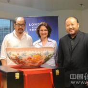 伦敦奥运中国瓷器来助威图片