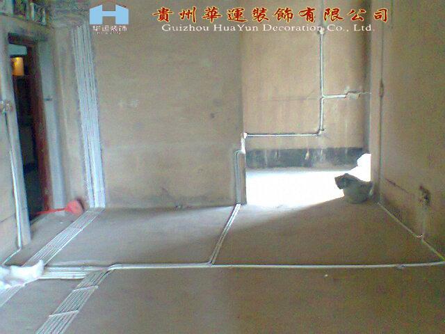 水电施工图片 水电施工样板图 贵阳装修公司室内装 高清图片