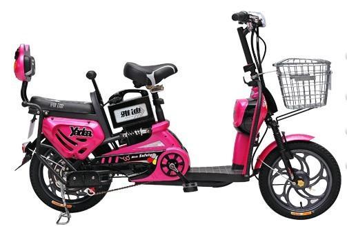雅迪开心猫21代电动自行车电动车图片