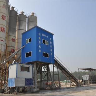 济南混凝土搅拌站生产厂家图片