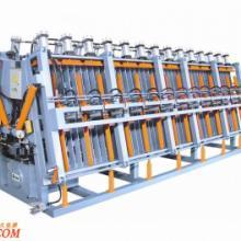 供应液压双面A字形拼板机·木工机械