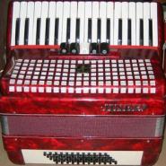 JH2011金杯牌34键60贝司儿童手风琴5/0变音三排簧键盘练习初