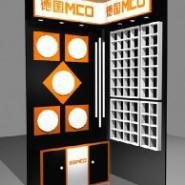 天津精品钛合金货架木质展示架展柜图片