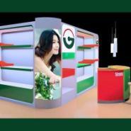 精品木质烤漆展柜展示柜柜台货架厂图片