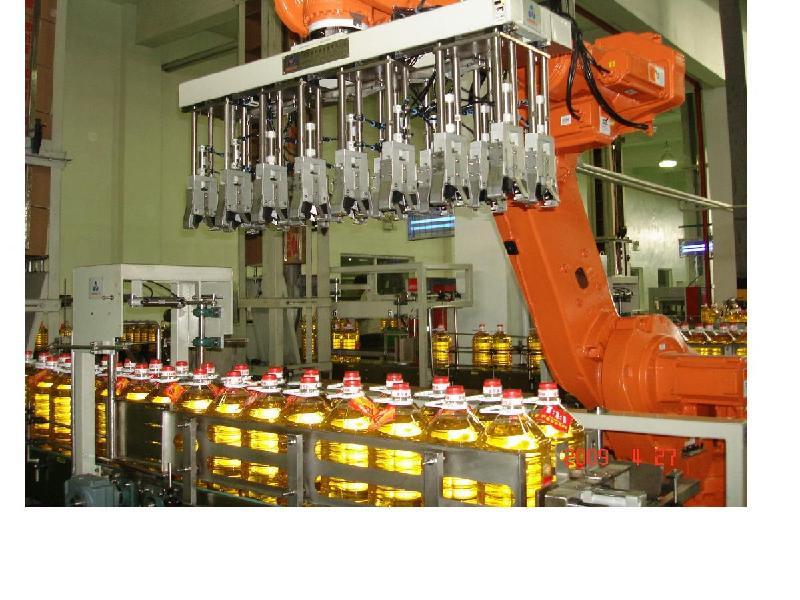 供应机械手装箱机