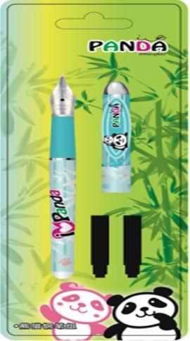 供应熊猫钢笔组