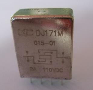 DJ171M型小型中功率密封电磁继电器图片