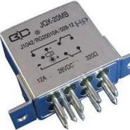 小型强功率密封直流电磁继电器图片