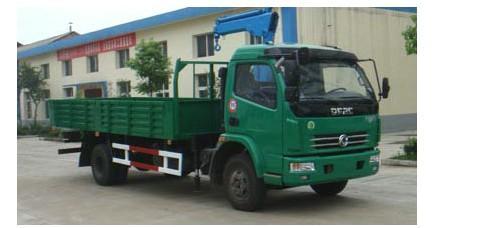 供应虹宇牌HYS5080JSQ型随车起重运输车