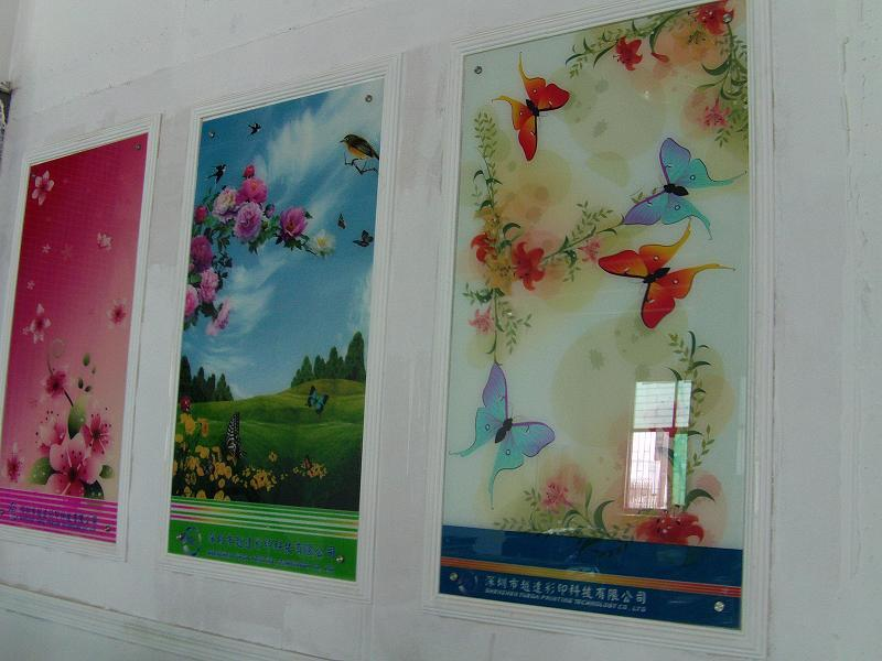 工艺玻璃 工艺玻璃供应商 供应广东工艺玻璃壁画喷墨机 工...